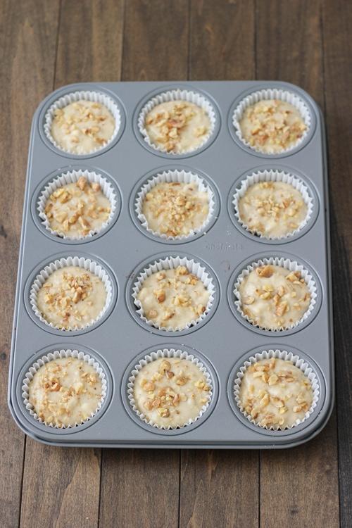 Banana Walnut Muffins-1-4