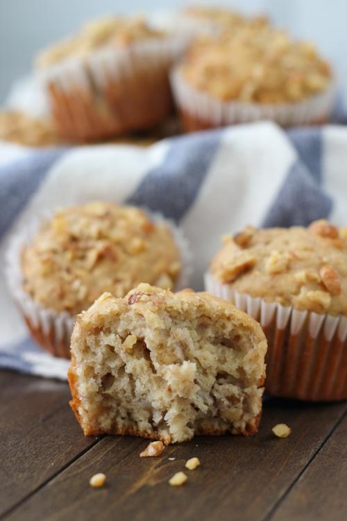 Banana Walnut Muffins-1