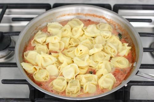 Tortellini With Creamy Tomato Sauce-1-13