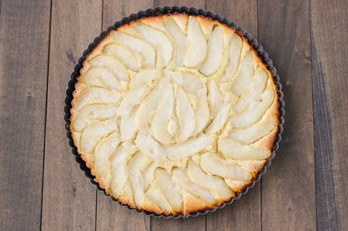 Almond Pear Tart-1-10