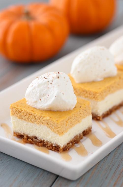 Pumpkin Cheesecake Bars-1-18