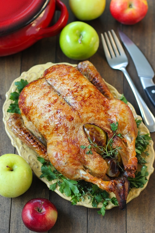 Roast Duck With Apples-1-14