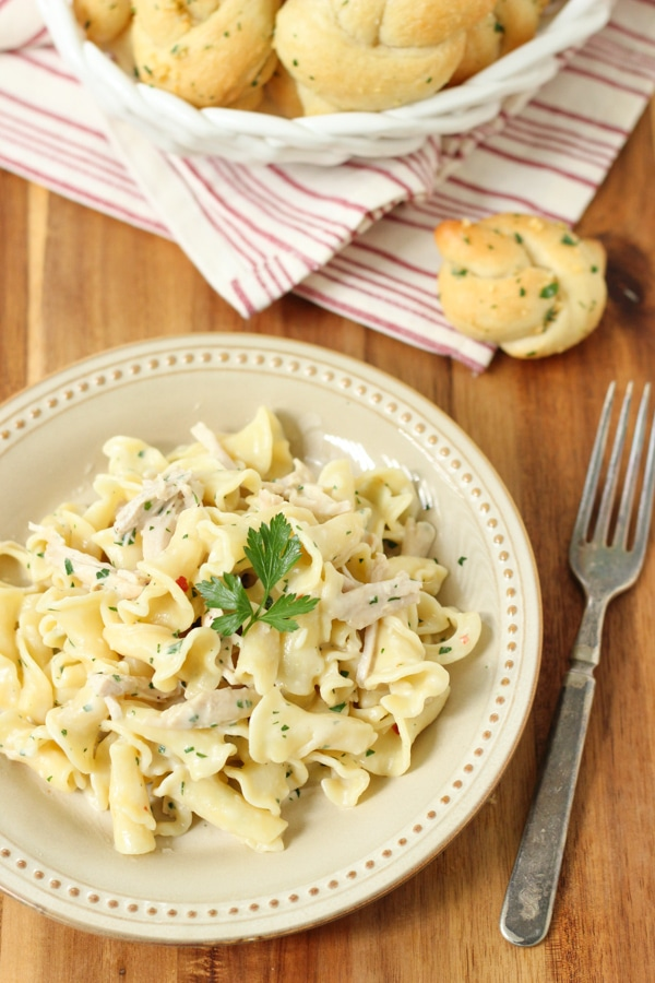 Roasted Garlic Sauce Campanelle-1-20