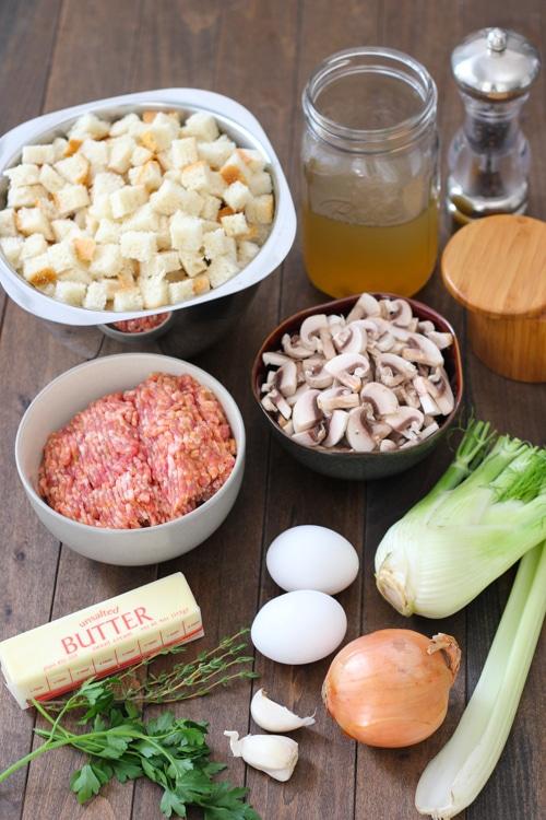Sausage and Mushroom Sourdough Dressing-1-20