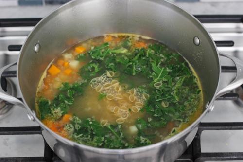 Turkey, Kale and Sweet Potato Soup-1-12