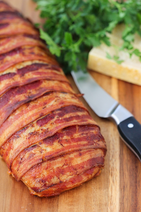 Bacon Wrapped Chicken Meatloaf-1-34