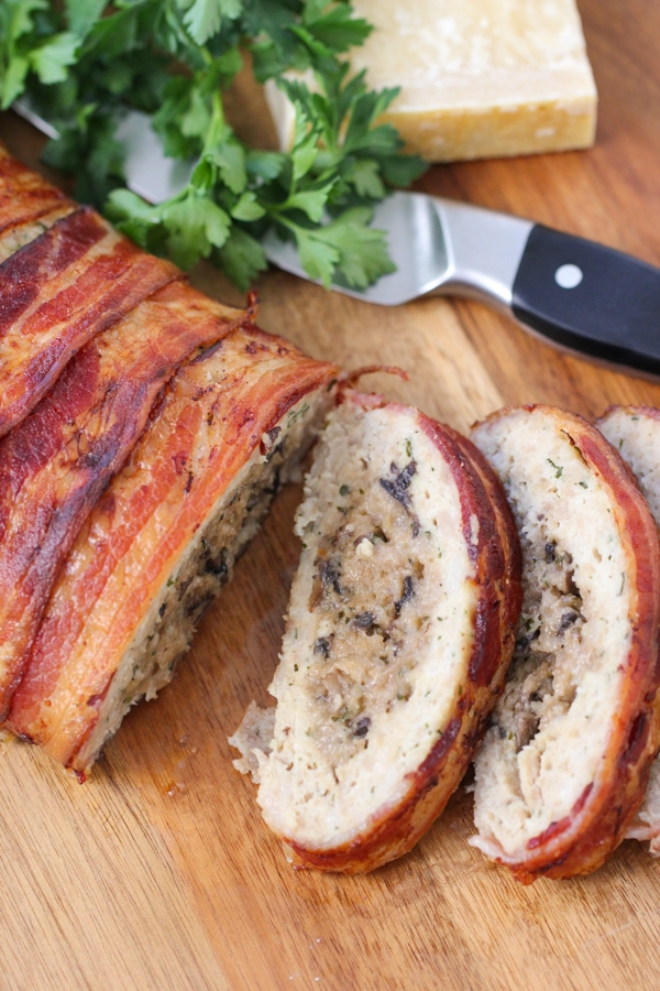 Bacon Wrapped Chicken Meatloaf-1-35