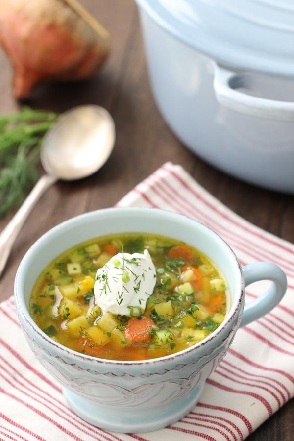 Golden Beet Soup-1-21