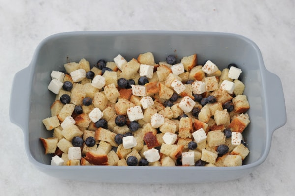 Blueberry, Cream Cheese and Almond French Toast Casserole-1-17