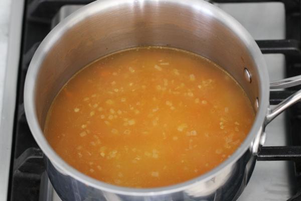 Creamy Rice, Flounder and Asparagus-1-22