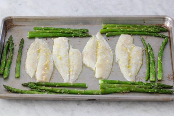Creamy Rice, Flounder and Asparagus-1-25