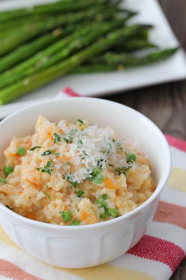 Creamy Rice, Flounder and Asparagus-1-28