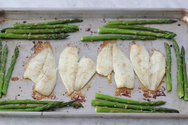 Creamy Rice, Flounder and Asparagus-1-29