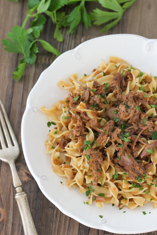Slow Cooker Beef and Onion Ragu-1-15