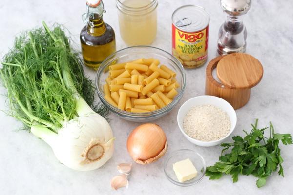 Fennel and Artichoke Pasta-1-18