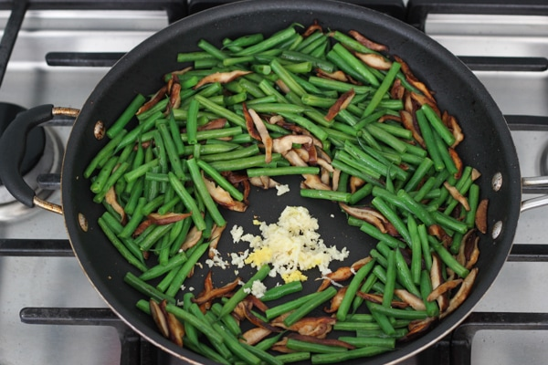 Beef, Shitake and Green Bean Stir Fry-1-38