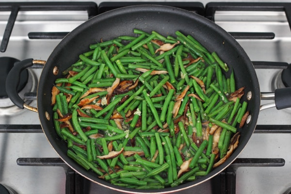 Beef, Shitake and Green Bean Stir Fry-1-39