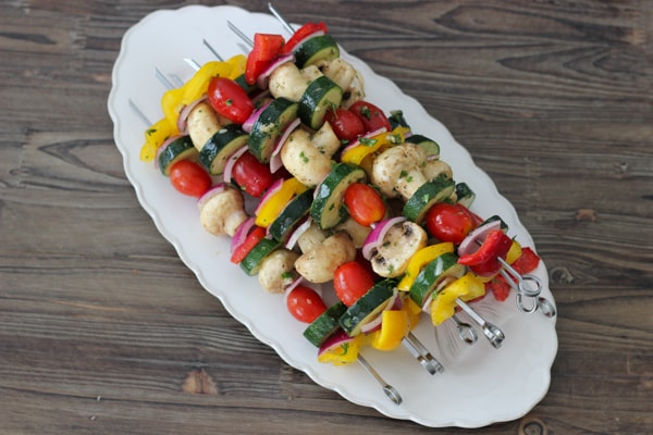 Grilled Vegetable and Mushroom Kebabs-1-12