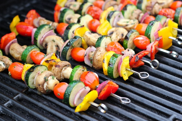 Grilled Vegetable and Mushroom Kebabs-1-13