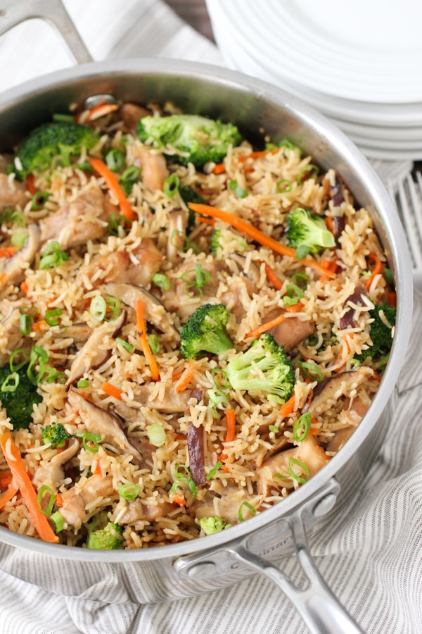 One Dish Asian Chicken and Rice-1-25