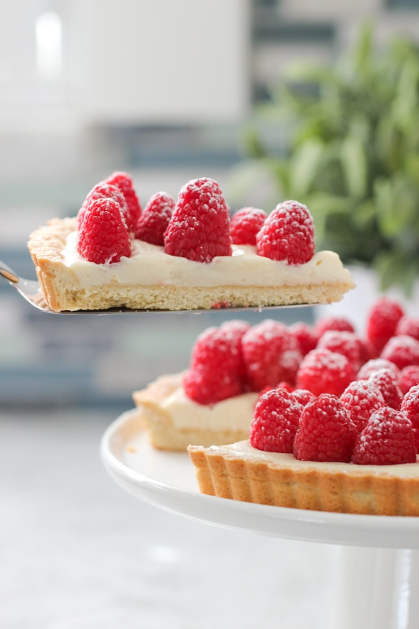 Raspberry Cheesecake Tart-1-23