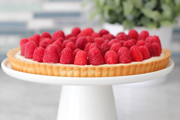 Raspberry Cheesecake Tart-1-26