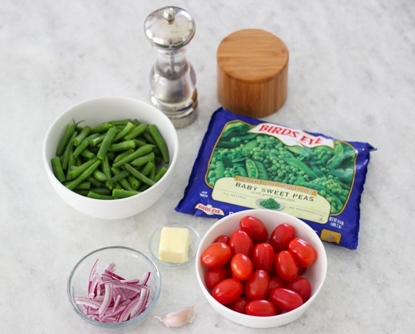 Sauteed Beans, Peas and Cherry Tomatoes-1-16
