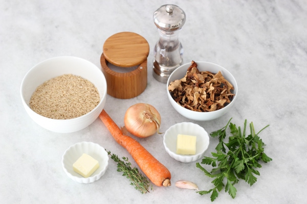 Carrot and Mushroom Brown Rice-1-16