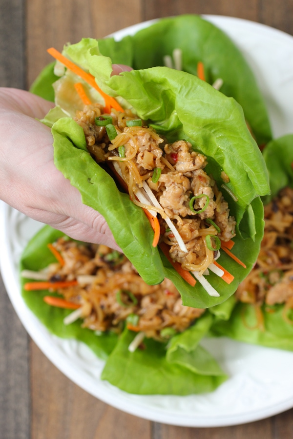Chicken Lettuce Wraps-12