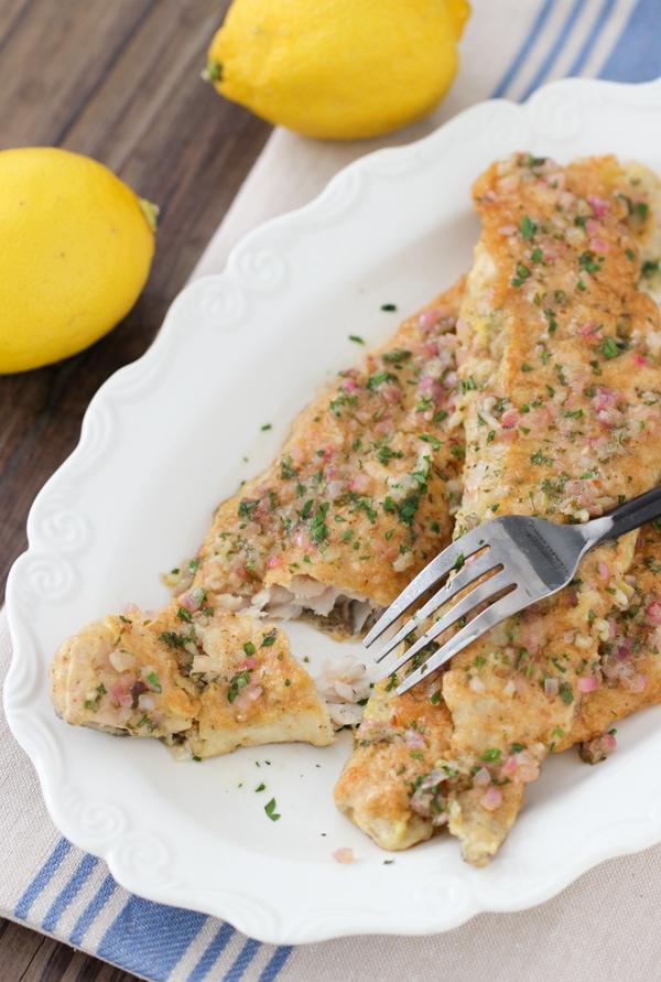 Lemon and Shallot Sauteed Fish Fillets-1-18