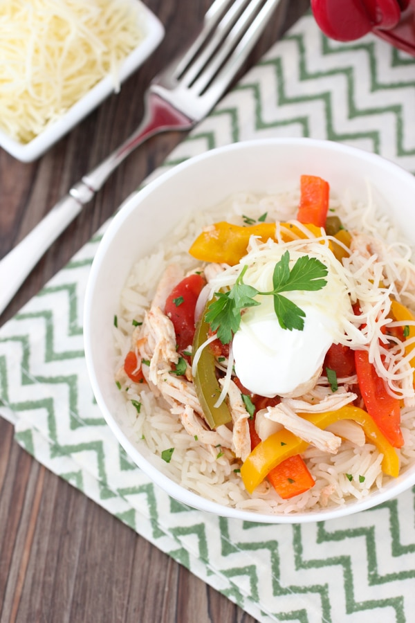 Slow Cooker Chicken and Peppers-13