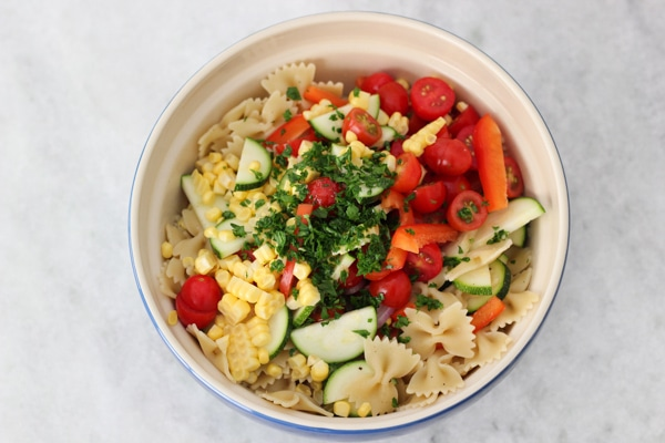 Vegetable Pasta Salad-5