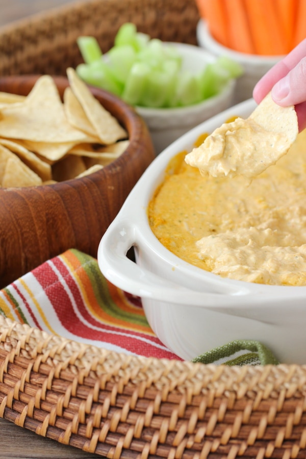 Buffalo Chicken Dip-9