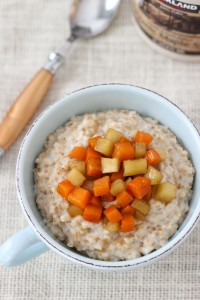 Butternut Squash and Apple Oatmeal-9
