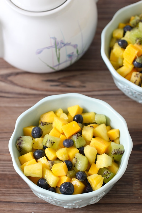 Easy Tropical Fruit Salad-6