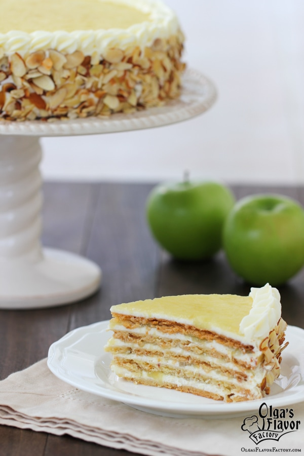 Apple Almond Cake-30