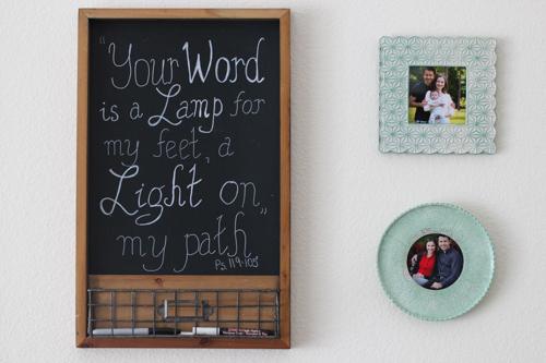 Bible verse on chalkboard-1-2