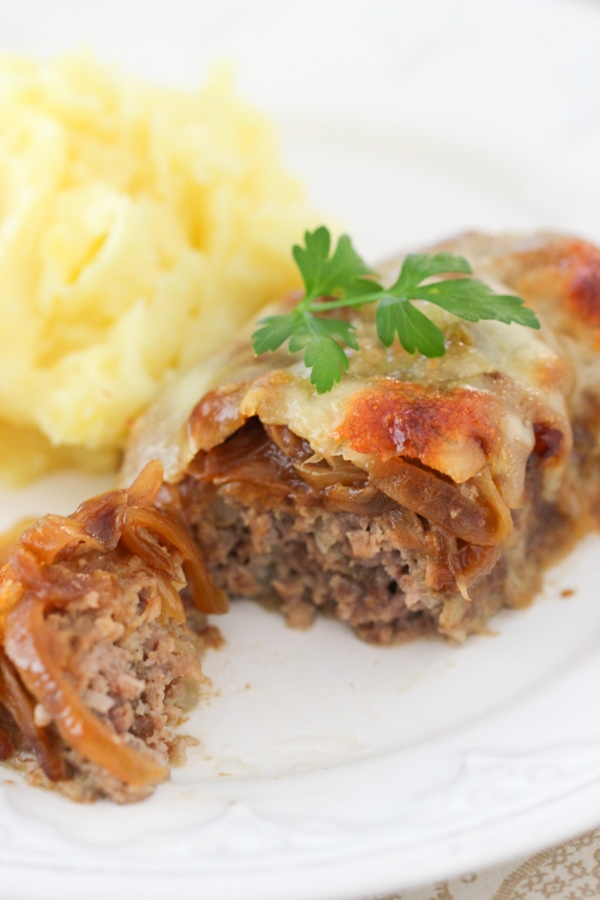 French Onion Mini Meatloaves 3-2-2