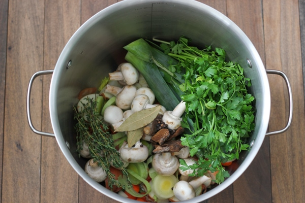 Homemade Vegetable Broth-4
