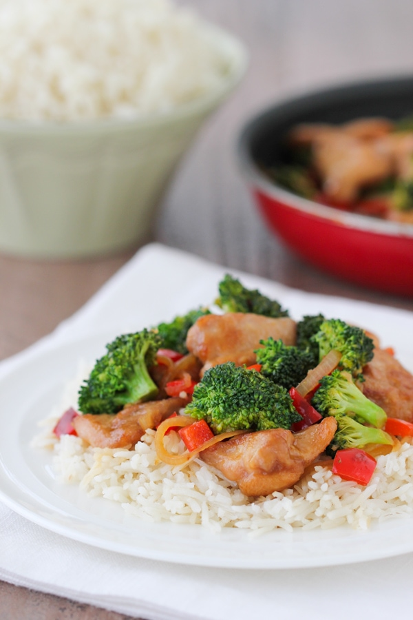 Chicken and Broccoli Stir Fry-10