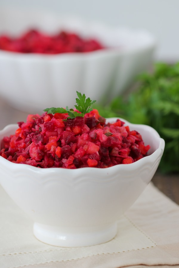 Russian Beet Salad Vinegret -7