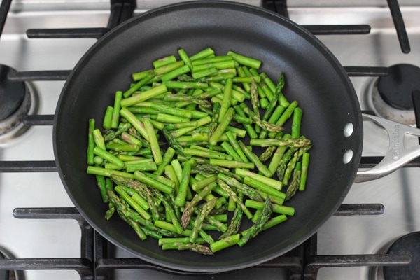 Asparagus and Mushroom Pasta-3