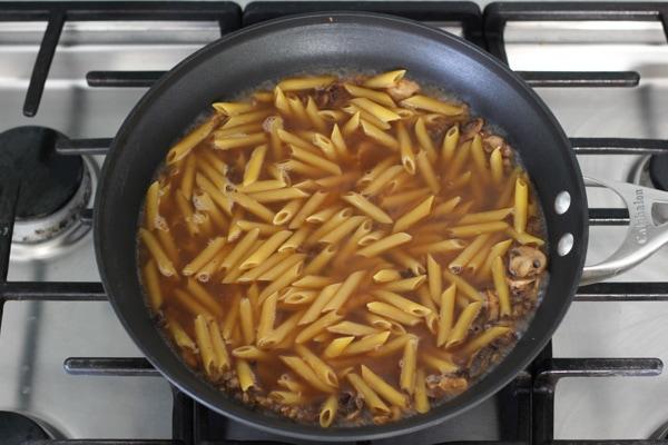 Asparagus and Mushroom Pasta-6