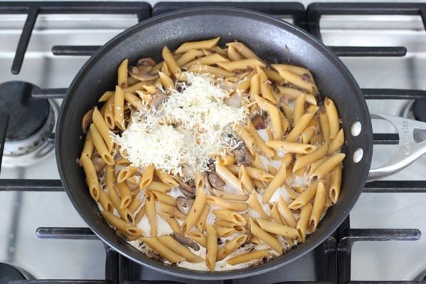 Asparagus and Mushroom Pasta-8