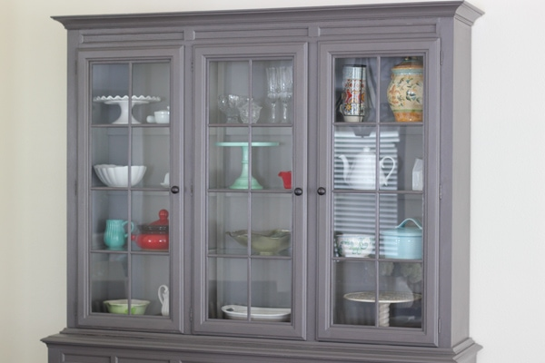 Painted China Cabinet-1-10