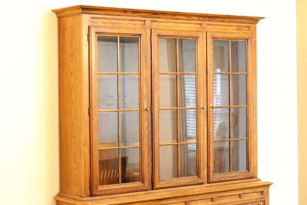 Painted China Cabinet-1-9