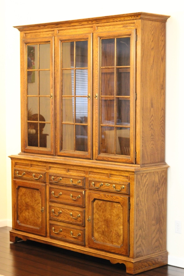 Painted China Cabinet-2
