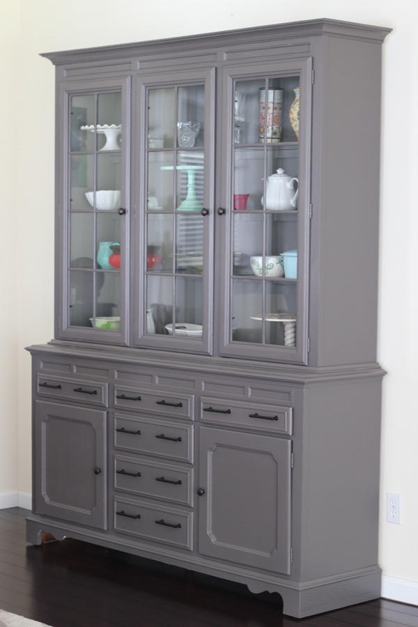 Painted China Cabinet-3