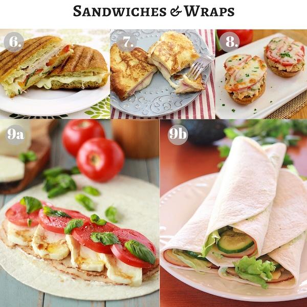 Sandwiches Wraps copy