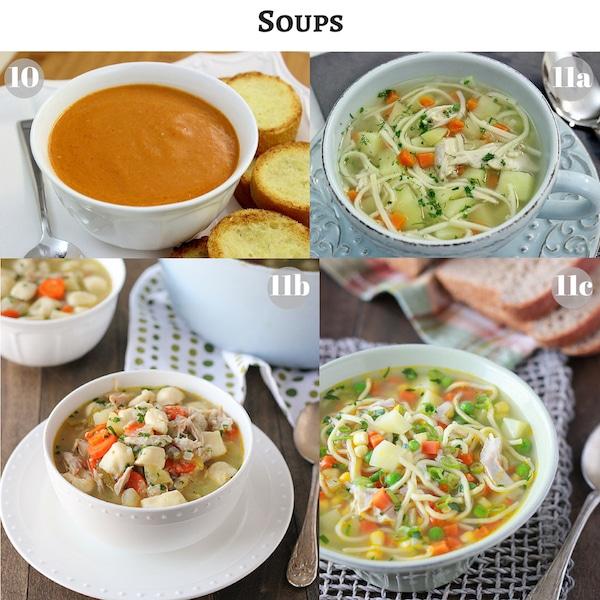 Soups copy